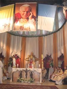 Угодкі сьмерці Яна Паўла ІІ: грэка-каталіцкія сьвятары моляцца аб хуткай беатыфікацыі Папы-славяніна