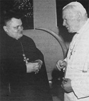 Айцец Ян Матусевіч, першы пробашч парафіі Сьв.Язэпа (1948-1998)