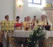 Менскія грэка-католікі ўдзельнічалі ў заканчэньні перэгрынацыі Абраза Ісуса Міласэрнага