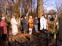 Малітва на Маскоўскіх могілках на магіле а. Яна Матусевіча