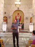 Памяць Блаславёнага Мікалая ўшанавалі грэка-католікі г. Хайфа