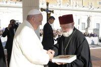 Кніга пра ўніяцкіх святароў перададзеная Папе Францішку
