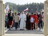 «Не бойцеся сведчыць пра Хрыста»: Папа Францішак на завяршэнне СДМ заклікаў моладзь даверыцца Божай Міласэрнасці