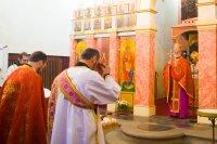 Грэка-каталіцкія пілігрымы ўшанавалі памяць святамучаніка Язафата ў Вене і Празе