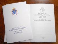 Выдадзены Апостальскі ліст «Misericordia et misera» па-беларуску