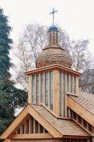 У Лёндане ўрачыста асьвяцілі новую беларускую грэка-каталіцкую царкву