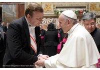 Пасол Беларусі пры Святым Пасадзе сустрэўся з Папам Францішкам