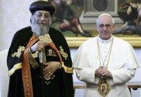 Папа Францішак і Патрыярх Тавадрас ІІ падпісалі сумесную дэкларацыю