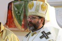Глава Украінскай Грэка-Каталіцкай Царквы да прэзідэнта РБ: «Мы молімся, каб мінскія дамоўленасці былі выкананы»