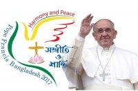 Сталі вядомы падрабязнасці візіту Папы Рымскага Францішка ў М'янму і Бангладэш
