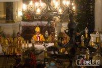 Мітрапаліт Тадэвуш Кандрусевіч у ноч Нараджэння Пана: «Бог стаў адным з нас, каб мы маглі стаць падобнымі да Яго»