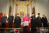 «Хай гэта малітва будзе сведчаннем, што ў Хрысце мы ўжо адзіныя»: набажэнства за адзінства хрысціянаў прайшло ў Мінску