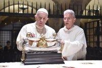 У горадзе св. Мікалая папа Францішак і іерархі Усходніх Цэркваў маліліся за мір на Блізкім Усходзе