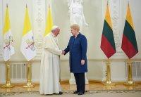 Папа Рымскі згадаў беларусаў у прамове да літоўскага народа