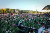 Імша папы Францішка ў Каўнасе: лацінская мова і больш за 100 тысяч вернікаў (+фота)
