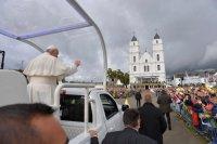 Папа Францішак у Аглоне працытаваў біскупа Баляслава Слосканса
