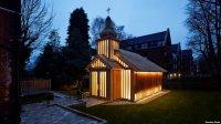 Беларускую царкву назвалі найлепшым рэлігійным будынкам сьвету на архітэктурным фэсьце ў Амстэрдаме