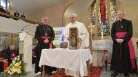 Папа Францішак сустрэўся з духавенствам Паўночнай Македоніі