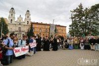 У Мінску хрысціяне розных канфесій аб'ядналіся ў супольнай малітве аб спыненні насілля