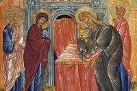 2 лютага - сьвята Сустрэчы Госпада нашага Ісуса Хрыста (Стрэчаньне)