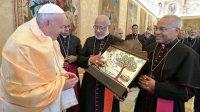 Папа Францішак скіраваў пасланне да Сіра-Малабарскай Царквы